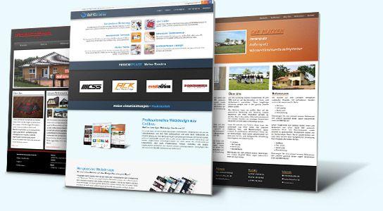 Webdesign und Homepage gestalten